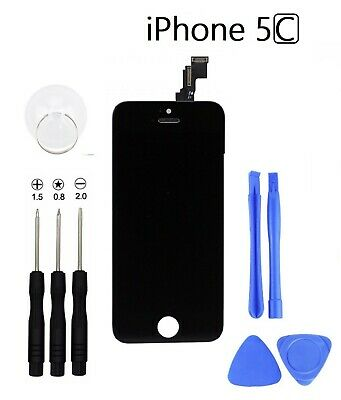 For iPhone 5C LCD Touch Screen Display Digitizer Glass Black With Tools