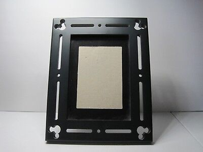 DISNEY PARKS Mickey Mouse Icons Ceramic Photo Picture Frame 5x7 New ...