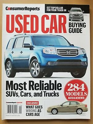 2016 consumer reports used car buying guide new 35 00 picclick rh picclick com consumer reports used suv buying guide consumer reports suv buying guide 2016