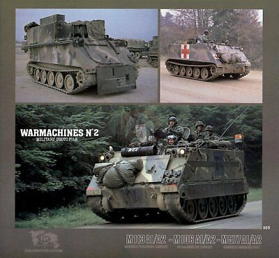 Verlinden Book WarMachines No.2 M113A1/A2 APC M106A1/A2 MC M577A1/A2 Command 505