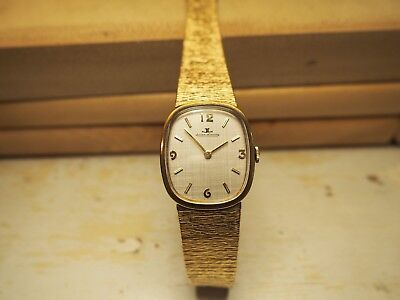 Gold Vintage Jaeger-LeCoultre withSwiss JLC 818/2 17 Jewel ~SERVICED~