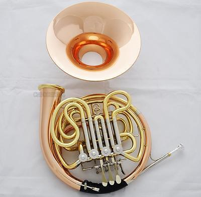 Professional Anniversary Rose Brass 200 Double French Horn Detachable Bell NEW