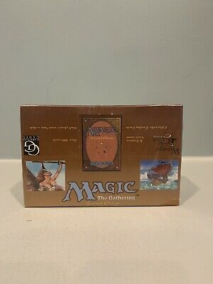 3RD EDITION REVISED BOOSTER BOX x 1 -FACTORY SEALED - MTG - MAGIC
