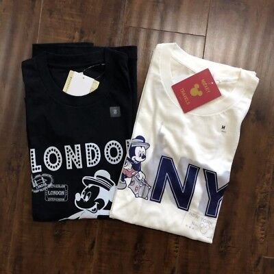 Uniqlo Mickey Mouse Travels Star Wars Men Short Sleeve T-Shirt Graphic Tee S-XL
