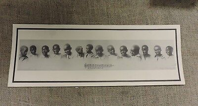 Antique All Coons look a-like to me, Yard Long Print, Black Americana, 1897 (VA)