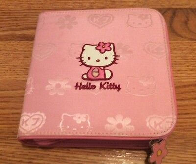 Hello Kitty CD Carrying Case (24 slots) Sanrio 2002