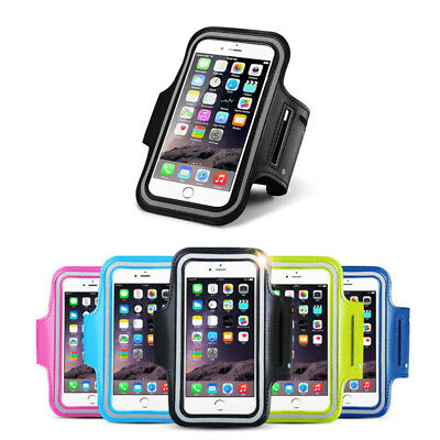 Sport GYM Running smart Phone Covers For iPhone 7 8 Plus 6 6S 5 5s Armband Cases