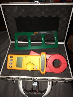 Fluke 1630 Earth Ground Clamp, Good Condition, Case