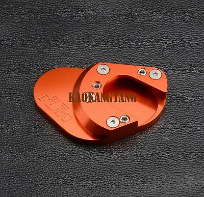 For KTM RC 125 200 390 690 950 990 Duke Kickstand Side Stand Extension Plate Pad