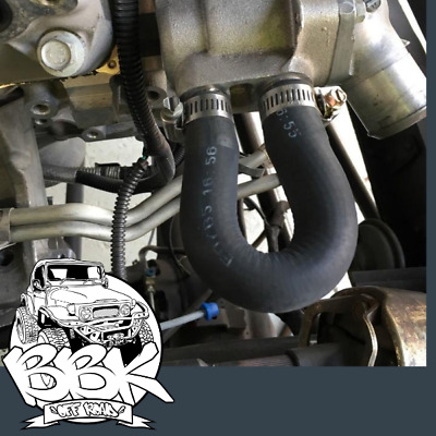Ls  Ls1 Heater Core Delete Bypass Hose For Water Pump Coolant