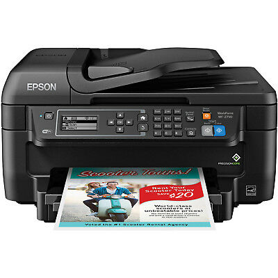 EPSON Printer Machine Fax Scanner Copier All In One Scan Wireless Laser Office