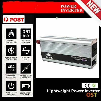 4000w Peak Modified Sine Wave Power Inverter Dc 12v To Ac 220v Car Caravanxb Buy Now Solarenergie