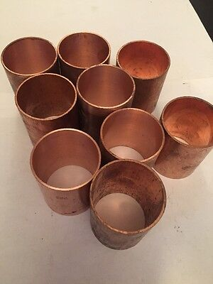 "Copper Slip Coupling 11/2"" Size (9 PC)"