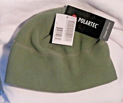 Light Green Military Polartec Classic Micro Cap/Hat