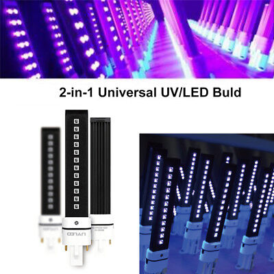 365+405nm 9W UV LED Lamp Bulb For UV Lamp Nail Dryer Replacement  Machine Curing
