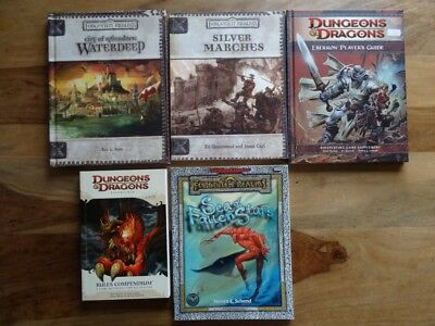 D&D and AD&D different Modules for selection  (D&D 3.5, AD&D 2nd Edition´)