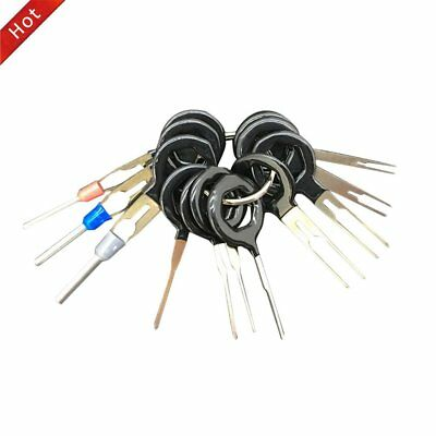 11-Terminal Removal Tool Car Electrical Wiring Crimp Connector Pin Extractor AX