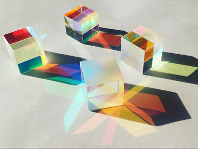 Optical Glass X-cube Dichroic Cube Prism RGB Combiner Splitter