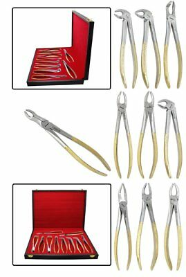 Dental Tooth Molars Extracting Pliers Forceps Doctor Dentistry Surgery Equipment
