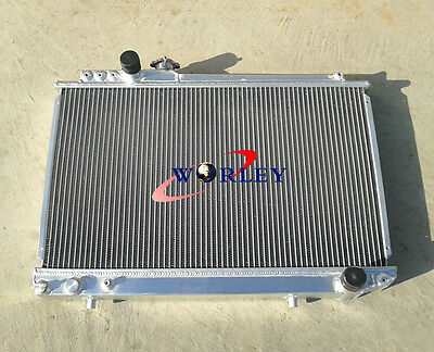 52mm For TOYOTA SUPRA MK3 MA70;7M-GTE/U 3.0L MT 1986-1992 Aluminum Radiator