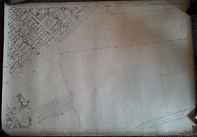Two 1882 sheet maps of Sneinton Nottingham
