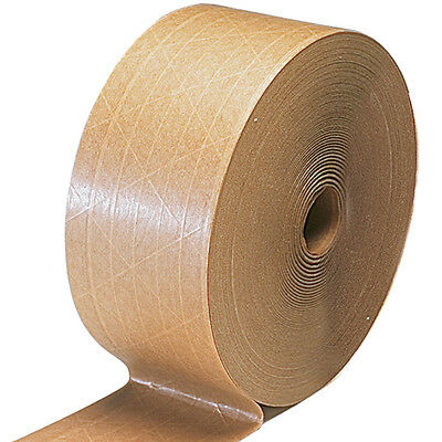 Gummed Tape*reinforced 10 Rolls*450 Ft 70Mm 65.00 A Case Free Shipping Patco !!!