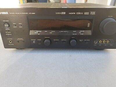Yamaha HTR-5990 Receiver HDMI, Component, and Phono connection ready