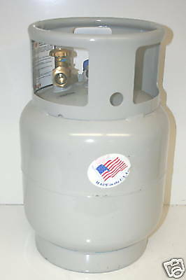 Propane Tank 20 Lb Forklift Liquid Draw New 20Lb 5 Gallon Steel Lpg Welder Lpg