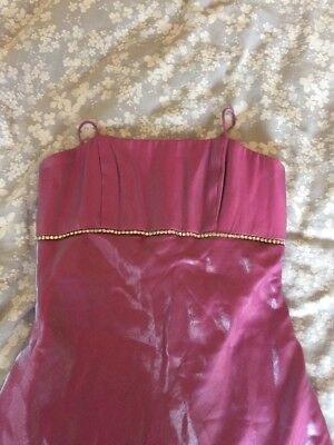 Pink/purple Ball Gown Prom Dress Cruise Evening Cocktail Size 8