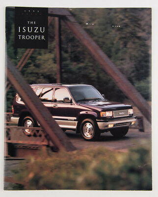1993 Isuzu Trooper Sales Brochure and Accessories Pamphlet