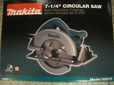 "Makita 5007F 7-1/4"" Circular Saw 15 AMP AC/DC LED New Electric Tool"
