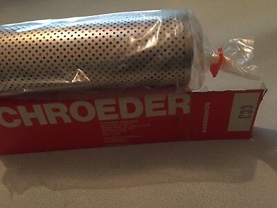 Schroeder CC3 Top Ported Pressure Filter Element, 3 micron, 45 gpm