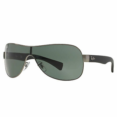 082dc9995f RAY-BAN RB3471 SUNGLASSES Gunmetal   Black  Green Classic 32mm ...