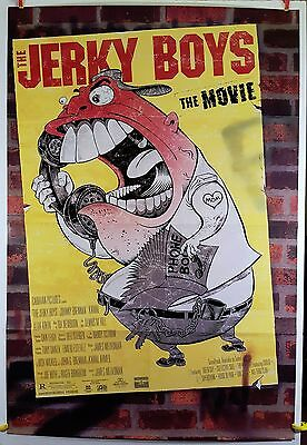 The Jerky Boys The Movie 1995 Original Movie Poster 27x40 Folded, Double-Sided