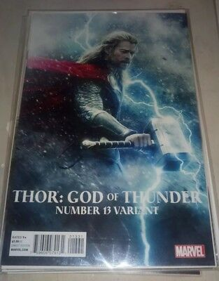 Thor God of Thunder #13 Movie Photo Variant/2013 Marvel Comics