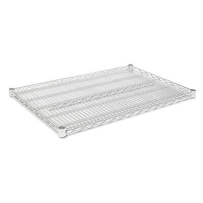 Alera Industrial Wire Shelving Extra Wire Shelves, 36w x 24d, Silver, 2 Shelves