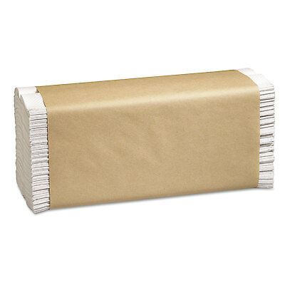 Marcal Folded Paper Towels 10 1/2 x 12 3/4 C-Fold White 150/Pack 16 Packs/Carton