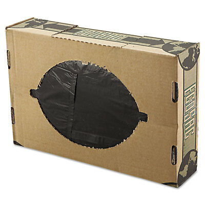 FlexSol Linear Low-Density Ecosac 38 x 60 55-Gallon 1.54 Mil Black 100/Case