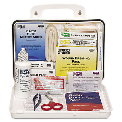 Pac-Kit ANSI Plus #25 Weatherproof First Aid Kit 143-Pieces Plastic Case 6430