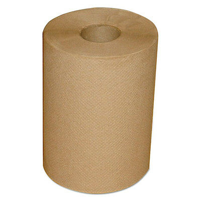 """Morcon Paper Hardwound Roll Towels 7 7/8"""" x 300 ft Brown 12/Carton 12300R"""