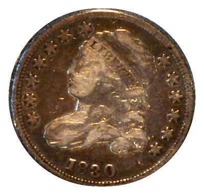 1830 10C Capped Bust Dime