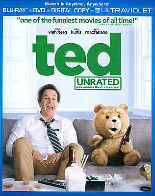 Ted (Two-Disc Combo Pack: Blu-ray + DVD Blu-ray