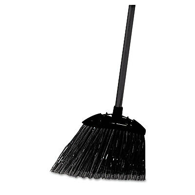"Rubbermaid Commercial Lobby Pro Broom Poly Bristles 35"" Metal Handle Black"
