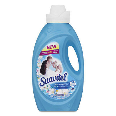 CPC39013 Suavitel Fabric Softener, Field Flowers Scent, 50 oz Bottle 39013