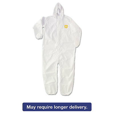 DuPont ProShield NexGen Elastic-Cuff Hooded Coveralls White 3X-Large 25/Carton