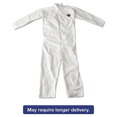 DuPont Tyvek Coveralls White 4X-Large 25/Carton TY120S4XL