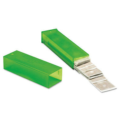 "Unger ErgoTec Glass Scraper Replacement Blades 4"" Double-Edge 25/Pack TR10"