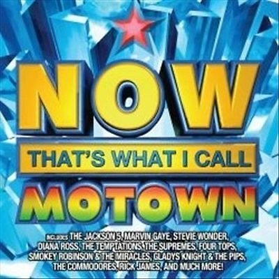 Various Artists : Now Thats What I Call Motown CD