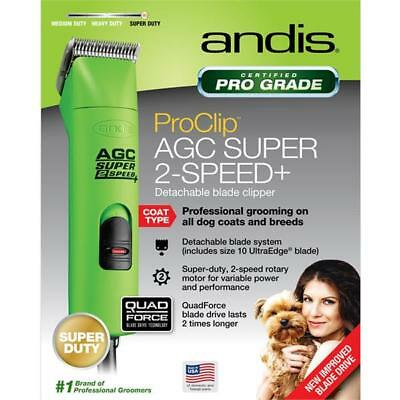Andis Clippers AGC2 Super 2 Speed+ Clipper Lime Spring Green (open box)