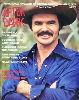 AFTER DARK Magazine  July 1978 BURT REYNOLDS Perry King A Different Story G-2-1